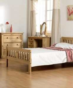 Pine Wooden Bed